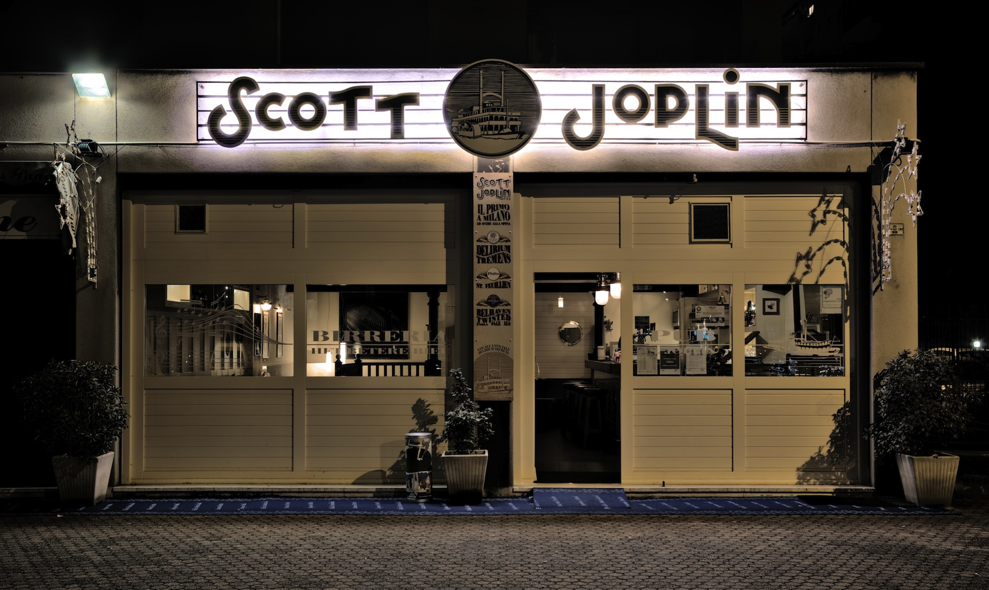 Scott Joplin Beer Milano